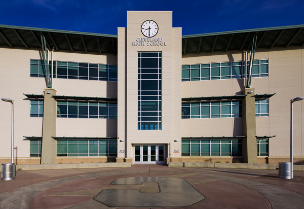 V Sue Cleveland High School Built By Jaynes Corp
