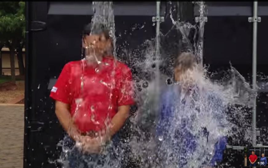 Shad's Ice Bucket Challenge