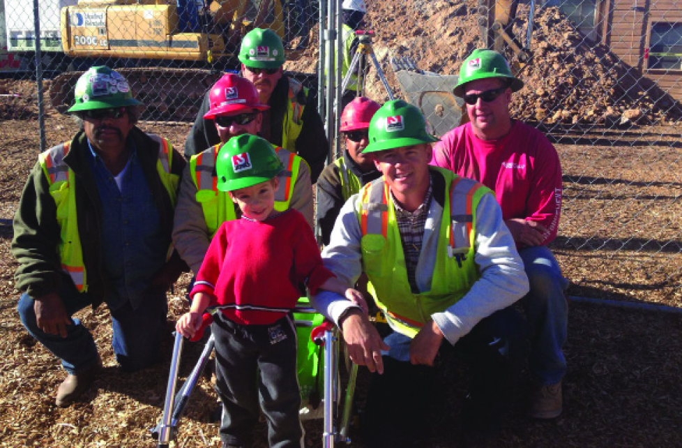 Elementary Student Finds Motivation in Construction